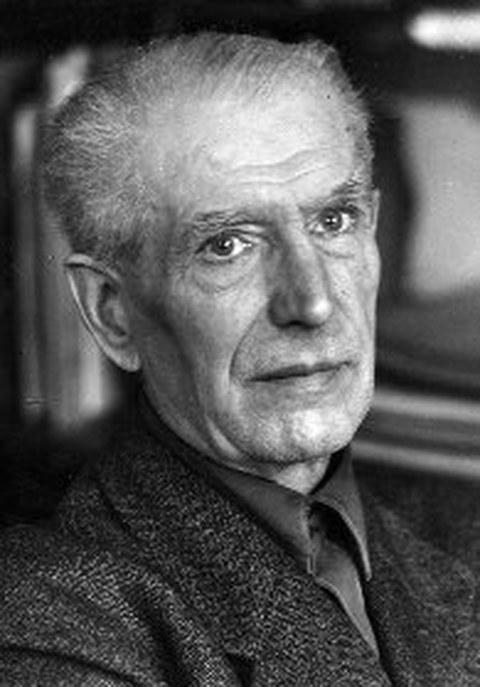 Schwarz-Weiß Porträtfoto von Professor Georg Berndt