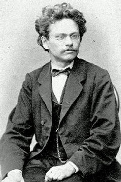 Schwarz-Weiß Porträtfoto von Professor Ernst Hartig