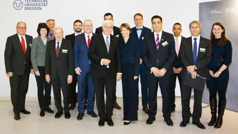 Besuch des Bundespräsidenten Frank-Walter Steinmeier