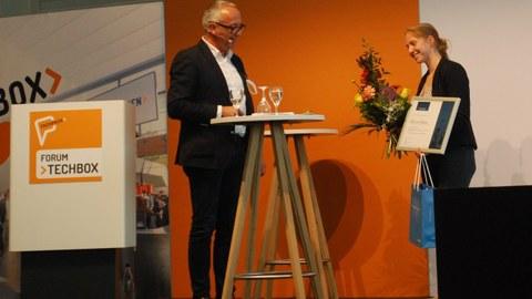 Verleihung der Preise des Hans Joachim Boekstegers Förderpreises im Rahmen des Forum TechBox auf der Fachpack 2021