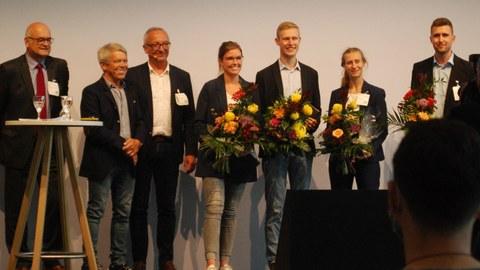 Verleihung der Preise der Otto-Hänsel-Stiftung im Rahmen des Forum TechBox auf der Fachpack 2021
