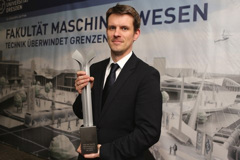 Lehrpreisträger 2013 - Jun.-Prof. Jens Krzywinski