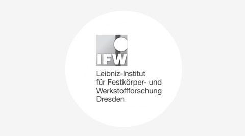 Grafik mit dem Logo des Leibniz Institut für Festkörper- und Werkstoffforschung