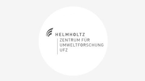 Grafik mit dem Logo des Helmholtz-Zentrum für Umweltforschung