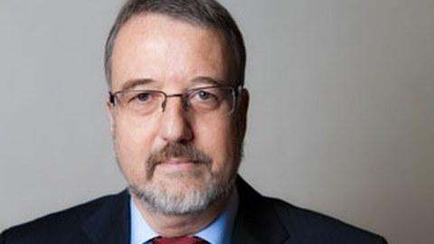Porträtfoto von Professor Klaus Wolf