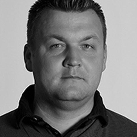 schwarzweiß-Portrait eines MW-Starthelfers