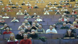 3D-Projektion im Hörsaal