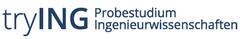 Dieses Bild zeigt das Logo des tryING Probestudium Ingenieurwissenschaften in Form eines Schriftzuges.