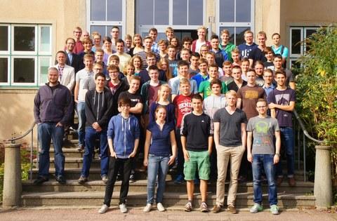 Gruppenbild der Teilnehmer aus dem Jahr 2014