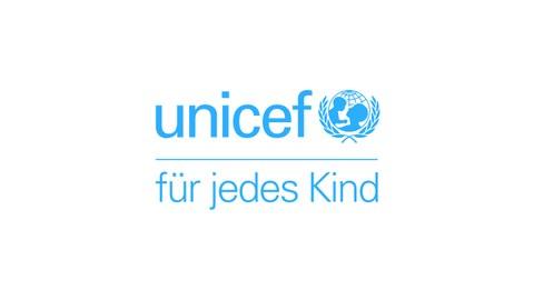 Logo von unicef.