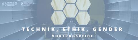 Plakat zur Vortragsreihe Technik, Ethik, Gender