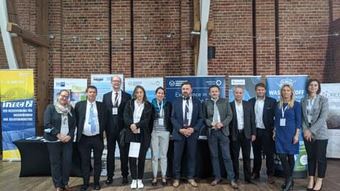 Am Rande des 14. Polnisch-Sächsischen Wirtschaftsforum in Wrocław: Vorbereitungstreffen zum 4. Sächsisch-Polnischen Innovationstag im April 2022.