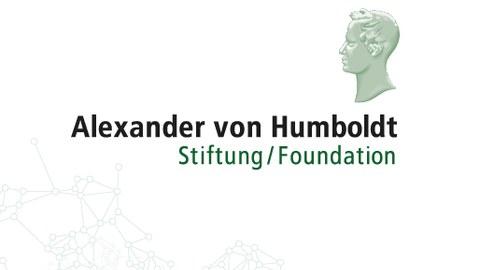 Das Logo der Alexander von Humboldt Stiftung