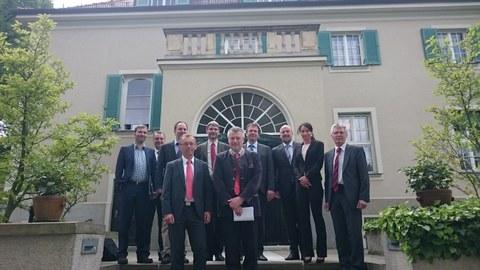 Treffen mit Siemens