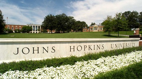Abbildung der Johns Hopkins University