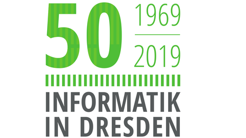 Logo 50 Jahre Informatik