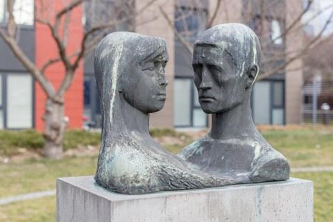 Baugebundene Kunst 1960er Jahre