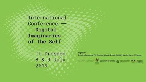 "International conference ""Digital Imaginaries of the Self"""