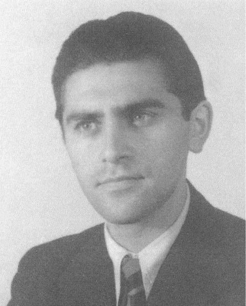 N. J. Lehmann als Student an der TH Dresden, Anfang der 1940er Jahre