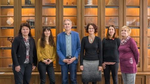 Team der Kustodie der TU Dresden