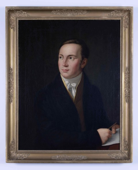 Wilhelm Gotthelf Lohrmann (1796–1840), Gemälde von Johann Karl Rößler um 1830