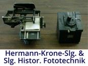 Hermann Krone Sammlung und Historische Fototechnik