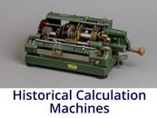 Historical Calculation Machines