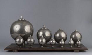 Kugelresonatoren nach Hermann Helmhotz, Firma Leppin & Masche 1913