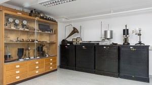 Sammlungsraum der Akustisch-Phonetischen Sammlung