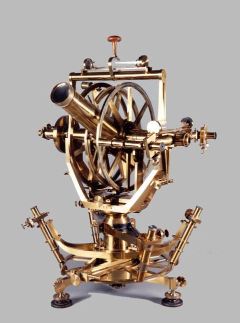 Universalinstrument von Repsold, Hamburg 1863
