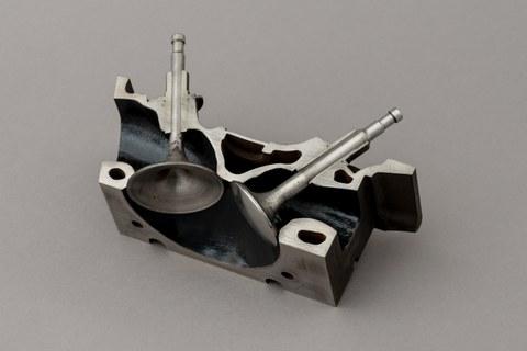 Modell Zylinderkopf