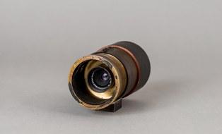 Versuchskamera für extrem starke Verkleinerungen  nach Emanuel Goldberg 1927