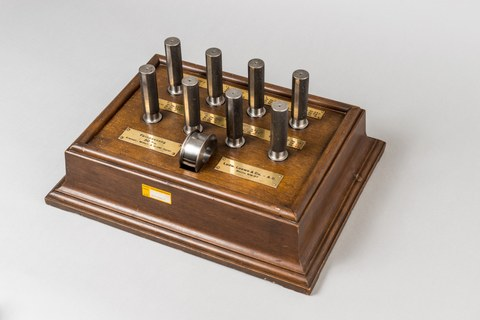 Prüflehren-Satz (Feinpassung 30 mm), Ludwig Loewe & Co. , Berlin um 1925