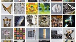 Mosaik von Sammlungsobjekten