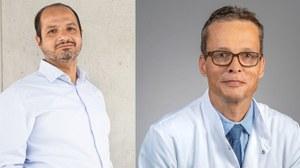 Prof. Dr. Ali El-Armouche und Prof. M. Bornhäuser