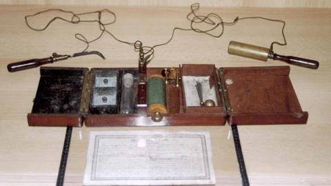 Induktionsapparat 1900