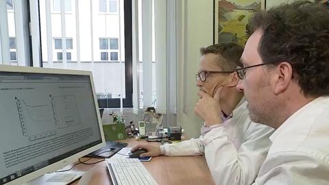 Prof. M. Bornhaeuser and Prof. I. Roeder