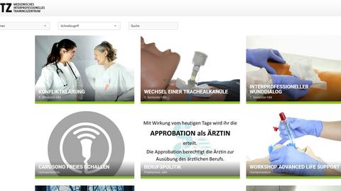 Screenshot der Website MITZ-mobil.de