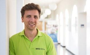 Michael Sommer mit grünem MITZ-T-Shirt