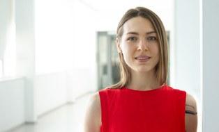 Porträt Oleksandra Topcheva