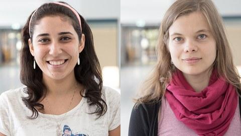 Bild von Nermeen El-Agroudy und Anica Kurzbach