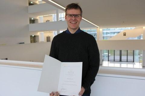 BIld von Professor Matthias Hebrok