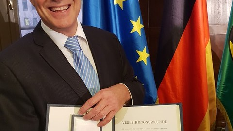Verdienstorden Stefan Bornstein