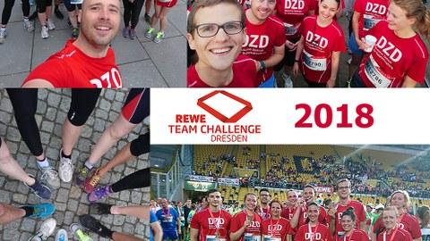 Bilder der Teilnehmer der REWE Team Challenge 2018