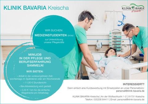 Minijob Klinik Bavaria