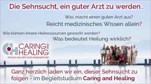 Begleitstudium Caring and healing