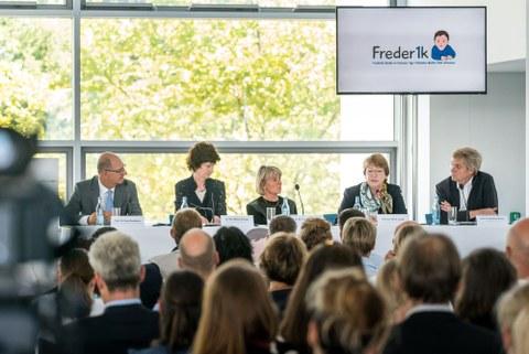 Pressekonferenz im CRTD zum Auftakt der Freder1k-Studie