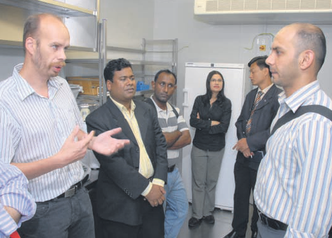 Journalisten aus Bangladesch besuchten unsere Professur