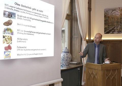 Vortrag von Prof. Dr. Thomas Schmidt im Industrieclub