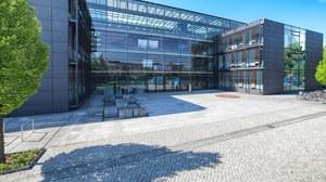 Außenansicht Biologie-Gebäude